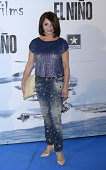 Neus Asensi attends the premiere of 'El Nino' at Kinepolis Cinema on August 28 2014 in Madrid Spain