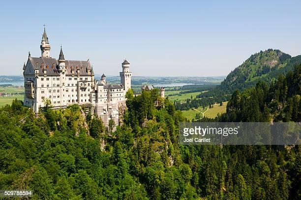 Schloss Neuschwanstein in Oberbayern, Deutschland