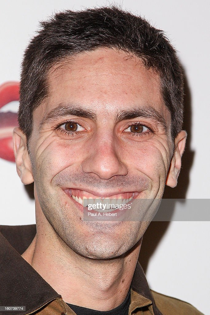 Nev Schulman arrives at the premiere of A24's 'A Glimpse Inside The Mind of Charles Swan III' held at the ArcLight Hollywood on February 4, 2013 in Hollywood, California.