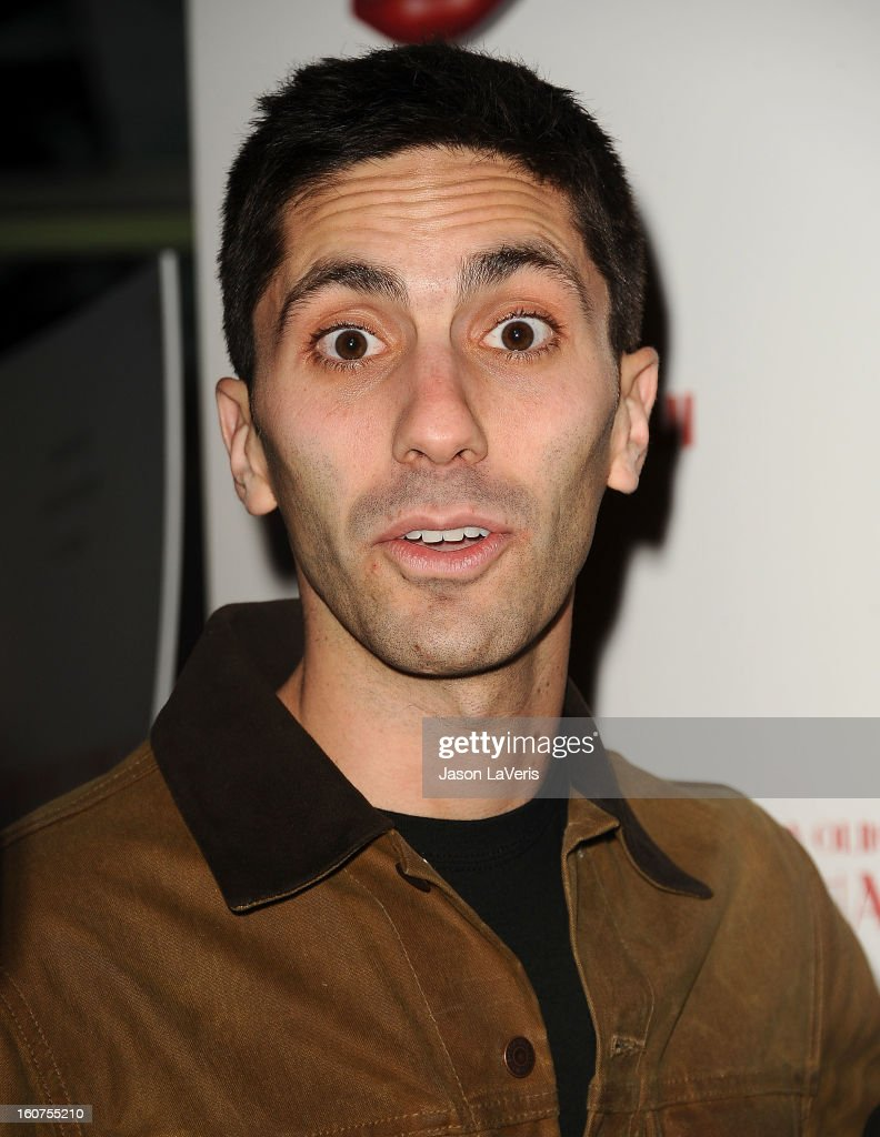 Nev Schulman attends the premiere of 'A Glimpse Inside The Mind Of Charlie Swan III' at ArcLight Hollywood on February 4, 2013 in Hollywood, California.