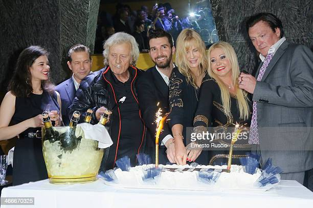 Neva Leoni Stephen Baldwin Rutger Hauer Andrea Iervolino Daryl Hannah Monika Bracardi and Michael Madsen attend the 'Sights Of Death' Pre Berlinale...