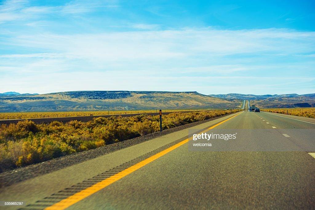 Nevada Desert Highway : Stock Photo
