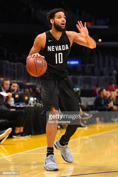 Nevada forward Caleb Martin sets up the offense during an college basketball game between the TCU Horned Frogs and the Nevada Wolf Pack in the...