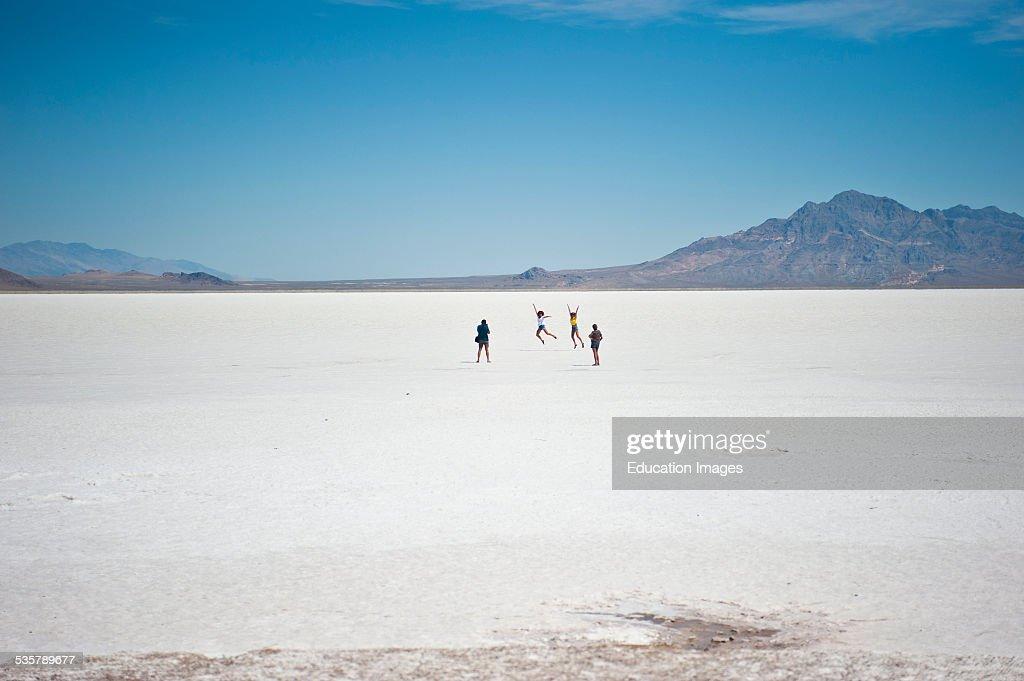 Nevada Great Salt Lake Bonneville Salt Flats