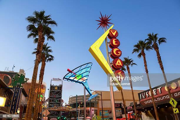 USA, Nevada, Las Vegas, Downtown Old Las Vegas, Fr