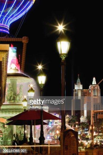 USA, Nevada, Las Vegas, night
