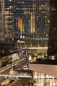 USA, Nevada, Las Vegas, view of CityCenter