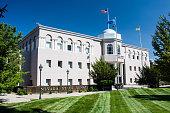 Senate building for the state of Nevada in Carson City, Nevada