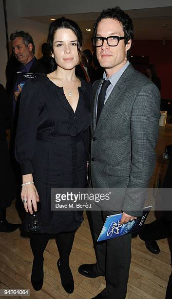 Neve Campbell and John Light attend the press night of Matthew Bourne's Swan Lake at Sadler's Wells on December 10 2009 in London England