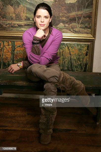 Neve Campbell during 2005 Sundance Film Festival 'Reefer Madness' Portraits at HP Portrait Studio in Park City Utah United States