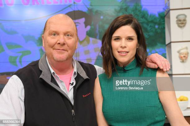 THE CHEW Neve Campbell is the guest today Thursday May 25 2017 on ABC's 'The Chew' 'The Chew' airs MONDAY FRIDAY on the ABC Television Network...