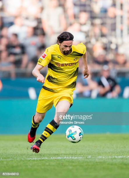 Neven Subotic of Borussia Dortmund during the preseason friendly match between VfL Bochum and Borussia Dortmund at Rewirpower Stadium on July 22 2017...