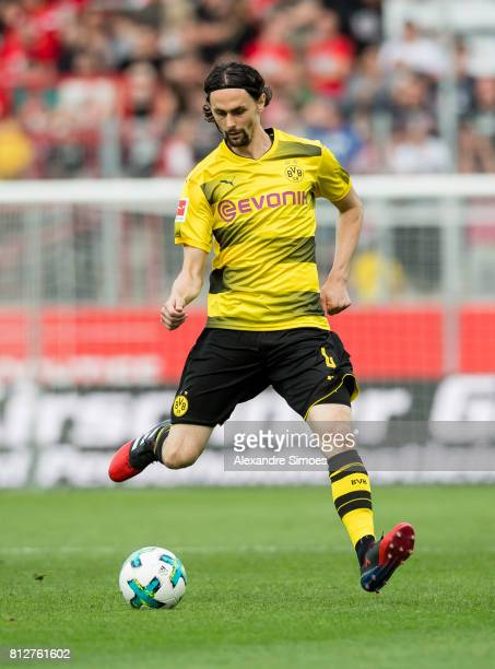 Neven Subotic of Borussia Dortmund in action during the friendly match between RotWeiss Essen and Borussia Dortmund at Stadion Essen on July 11 2017...