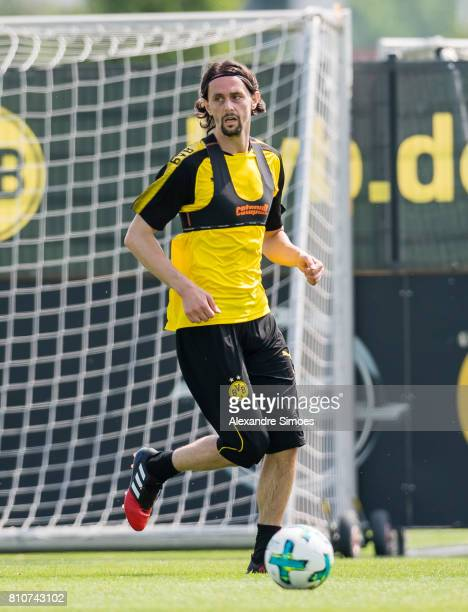 Neven Subotic of Dortmund during a training session at BVB trainings center on July 7 2017 in Dortmund