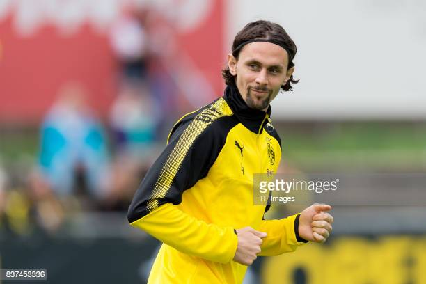 Neven Subotic of Dortmund looks on during a training session as part of the training camp on July 27 2017 in Bad Ragaz Switzerland