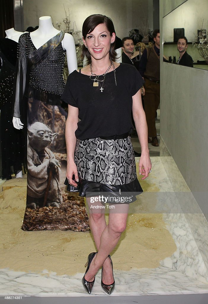 Nevena Borissova attends the Rodarte Book Launch Party at Curve Boutique on May 4, 2014 in New York City.