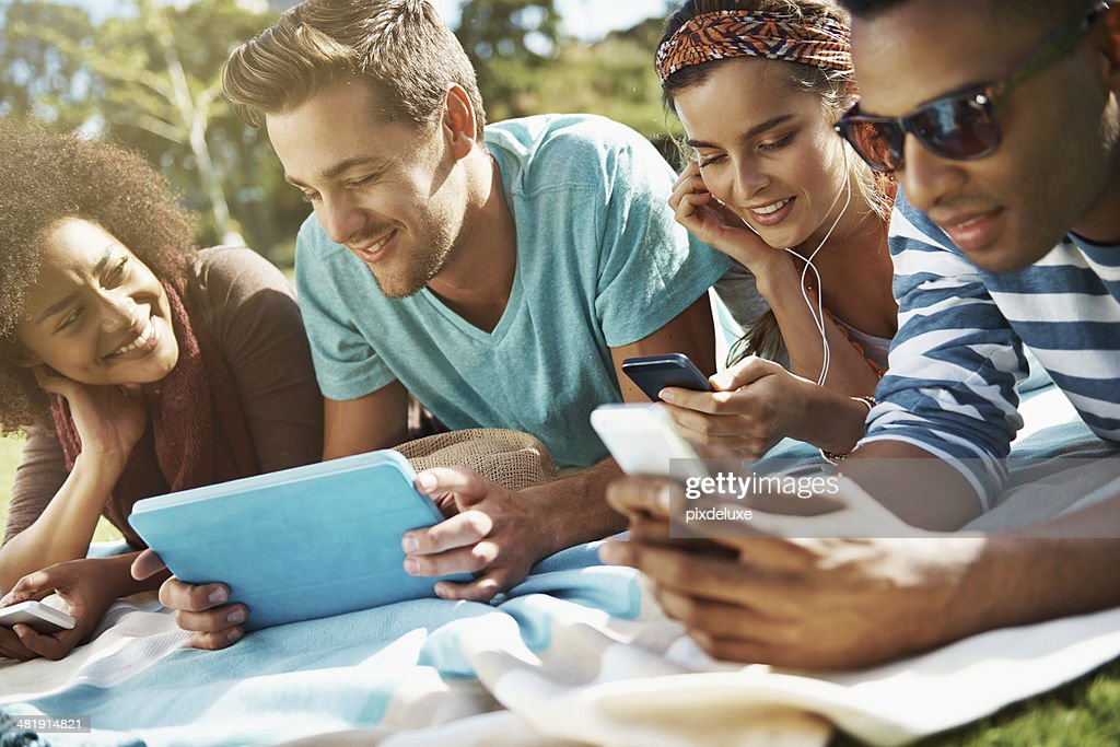 Never far from their toys : Stock Photo