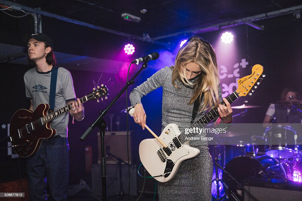 Neville James and Isabel Munoz-Newsome of Pumarosa perform at The Wardrobe during Live At Leeds on April 30, 2016 in Leeds, England.