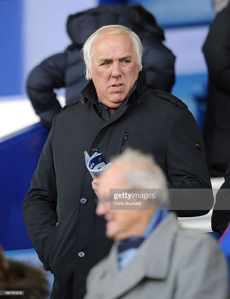Neville Neville looks on during the Barclays Premier League match between Everton and Tottenham Hotspur at Goodison Park on November 03, 2013 in Liverpool, England.