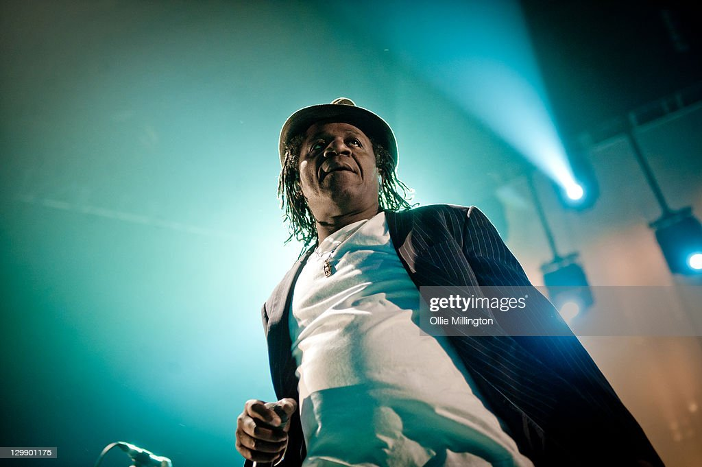 Neville Staple of The Specials performs at Nottingham Capital FM Arena on October 21, 2011 in Nottingham, United Kingdom.