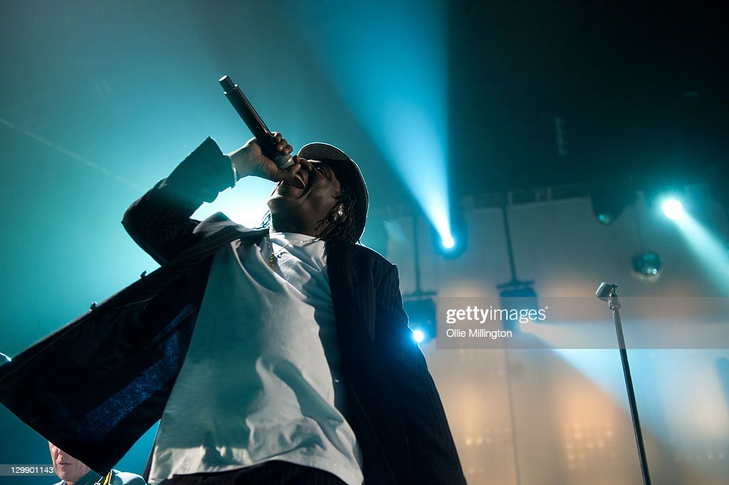 Neville Staple of The Specials performs onstage at Nottingham Capital FM Arena on October 21, 2011 in Nottingham, United Kingdom.