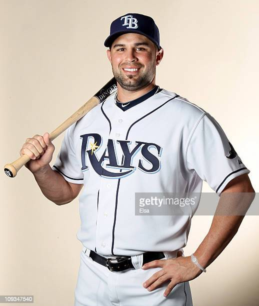 Nevin Ashley of the Tampa Bay Rays poses for a portrait during the Tampa Bay Rays Photo Day on February 22 2011 at the Charlotte Sports Complex in...