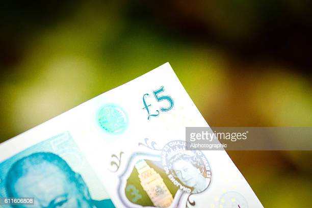 New 5 pound note