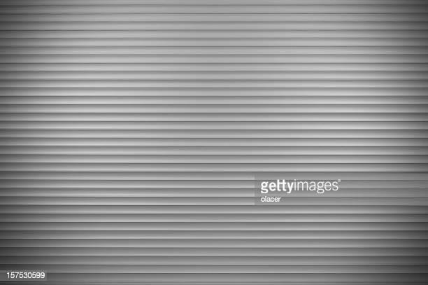 New aluminum closed shop door