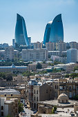 New and old Baku