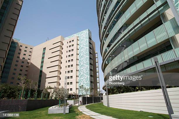 New apartment blocks are seen at the Al Muneera development during a media tour organized by Aldar Properties PJSC Abu Dhabi's biggest real estate...