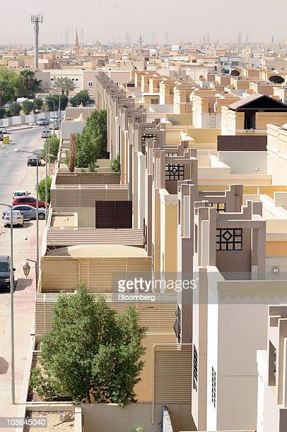 New apartments stand at the Al Qasr residential project built by Dar AlArkan Real Estate Development Co in Riyadh Saudi Arabia on Wednesday Oct 13...