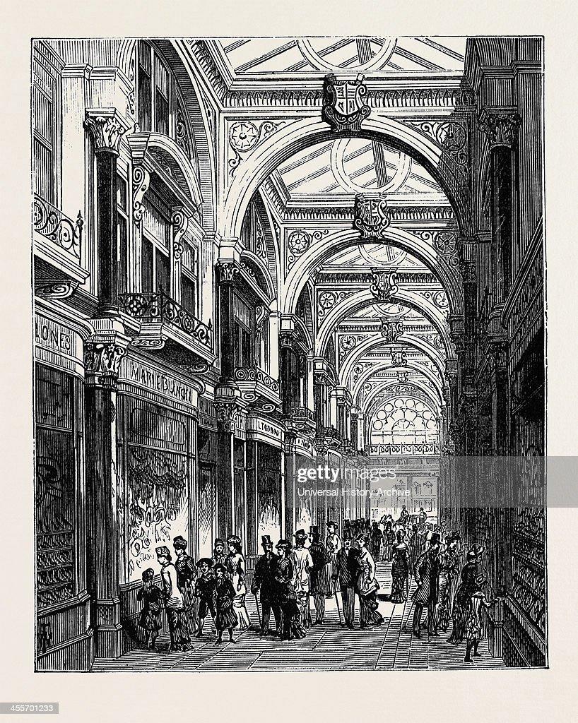 New Arcade Old Bond Street London 1880