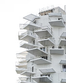 white architecture design