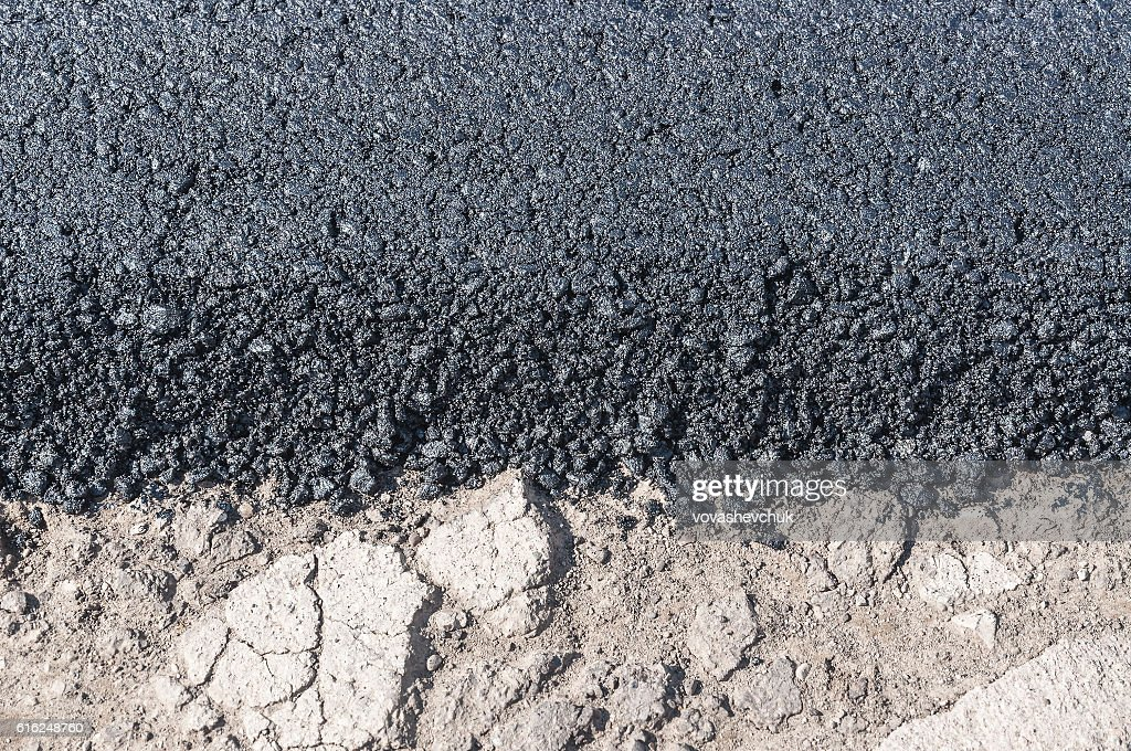 new asphalt texture : Stock Photo