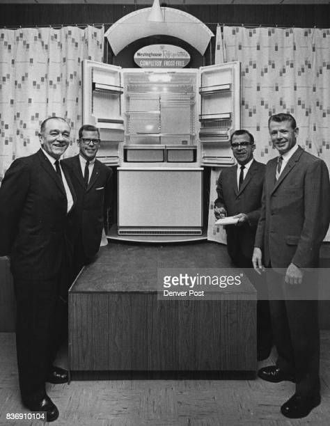 New At Westinghouse New products and new officials both were on display at dealer showing of new Westinghouse lines for 1966 at Westinghouse...