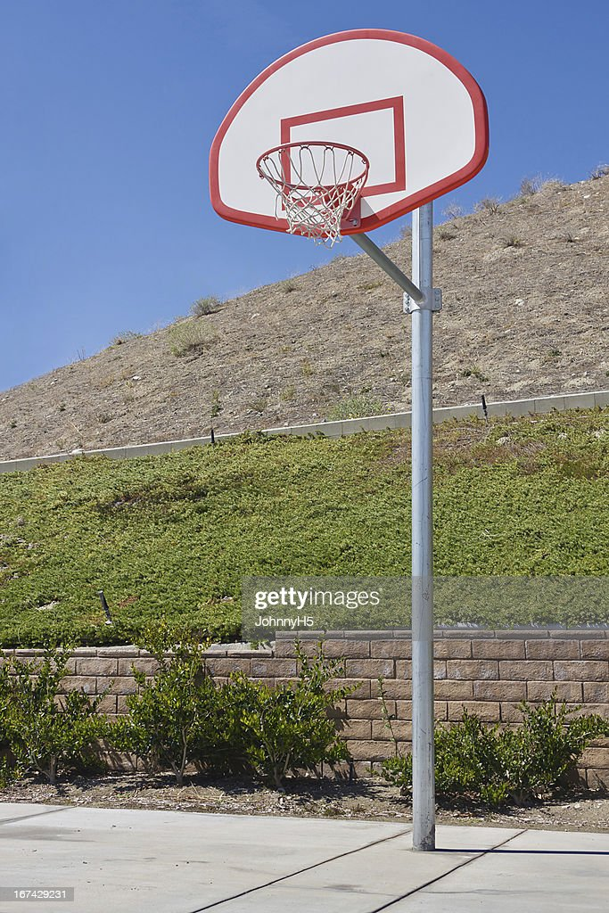 New Basketball Court : Stock Photo