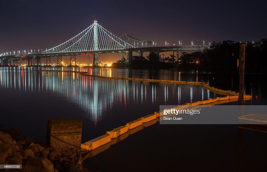 New Bay Bridge at Night