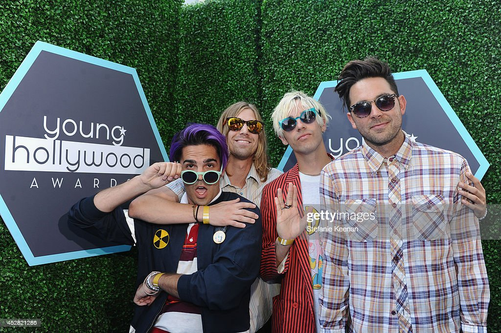 New Beat Fund attends the 2014 Young Hollywood Awards held at The Wiltern on July 27, 2014 in Los Angeles, California.