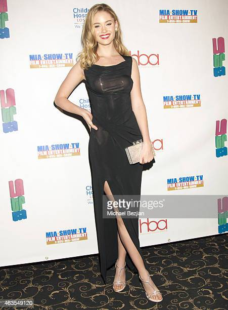 New Beauty Recipient Virginia Gardner attends 1st Hollywood Beauty Awards Presented By LATF And Benefiting Children's Hospital Los Angeles at The...