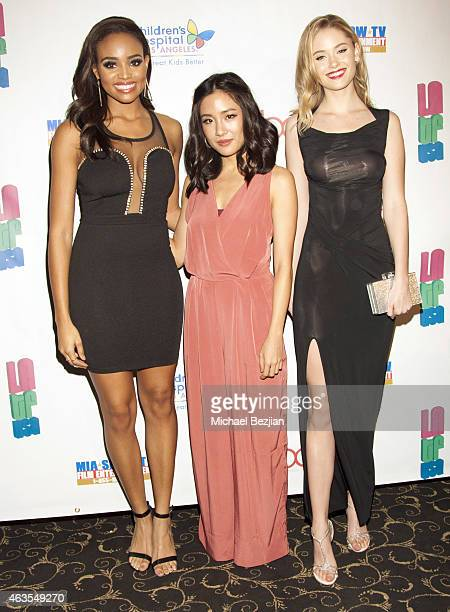 New Beauty Recipients Meagan Tandy Constance Wu and Virginia Gardner attend 1st Hollywood Beauty Awards Presented By LATF And Benefiting Children's...