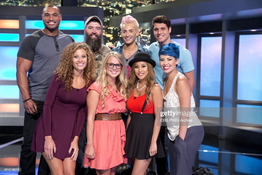 New BIG BROTHER House guests Devin Donny Frankie Cody Amber Nicole Paola Joey before they move into the house on the season premiere of BIG BROTHER...