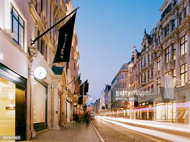 New Bond Street at dusk