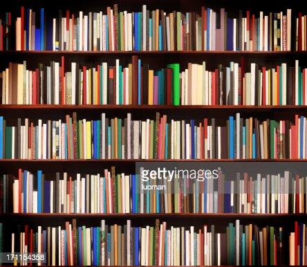 New books in a bookstore