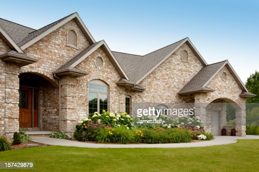 Bricks stock photos and pictures getty images for New brick homes