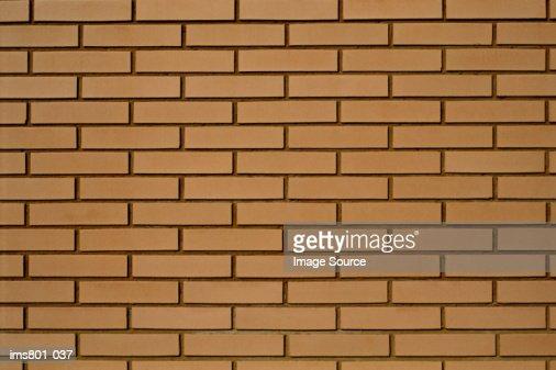 New brick wall : ストックフォト
