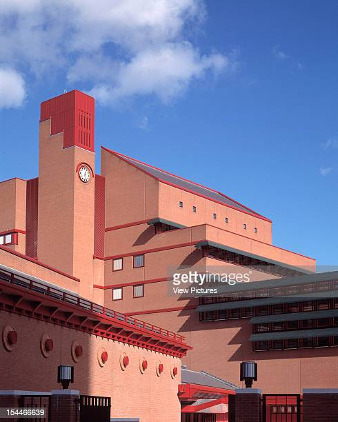 New British Library London United Kingdom Architect Colin St John Wilson And Associates New British Library The New Building With Clock Tower