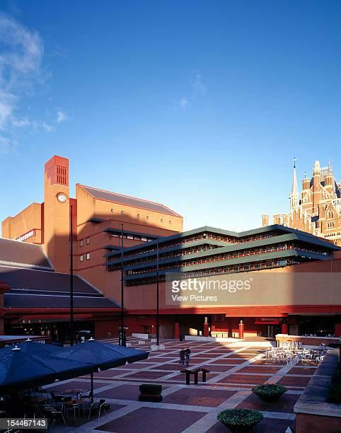 New British Library London United Kingdom Architect Colin St John Wilson And Associates New British Library St Pancras And The British Library