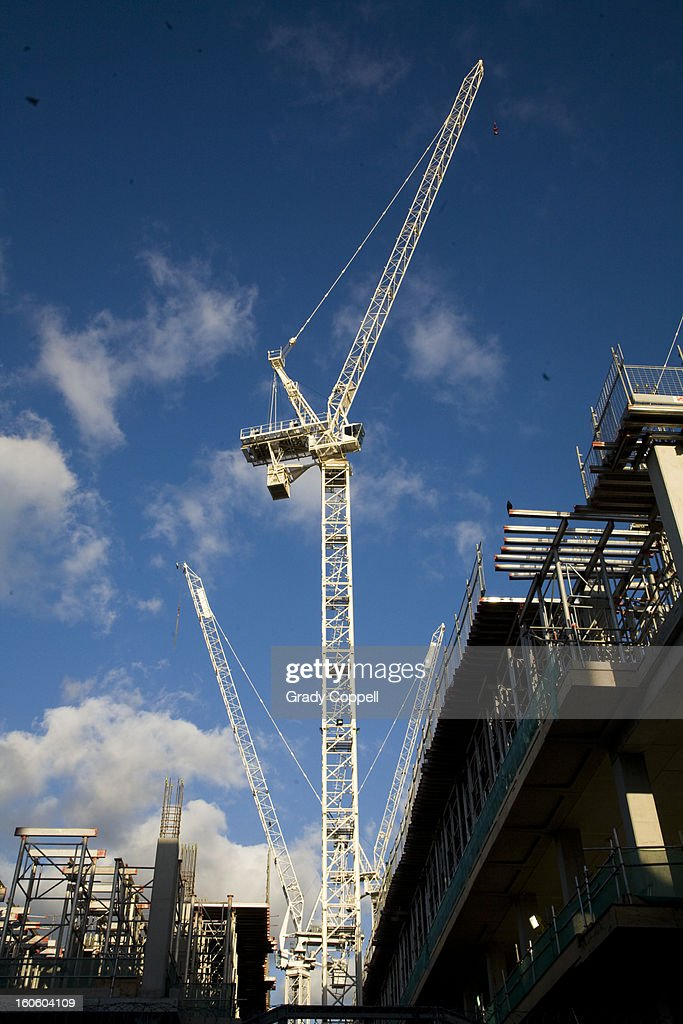 New building construction : Stock Photo