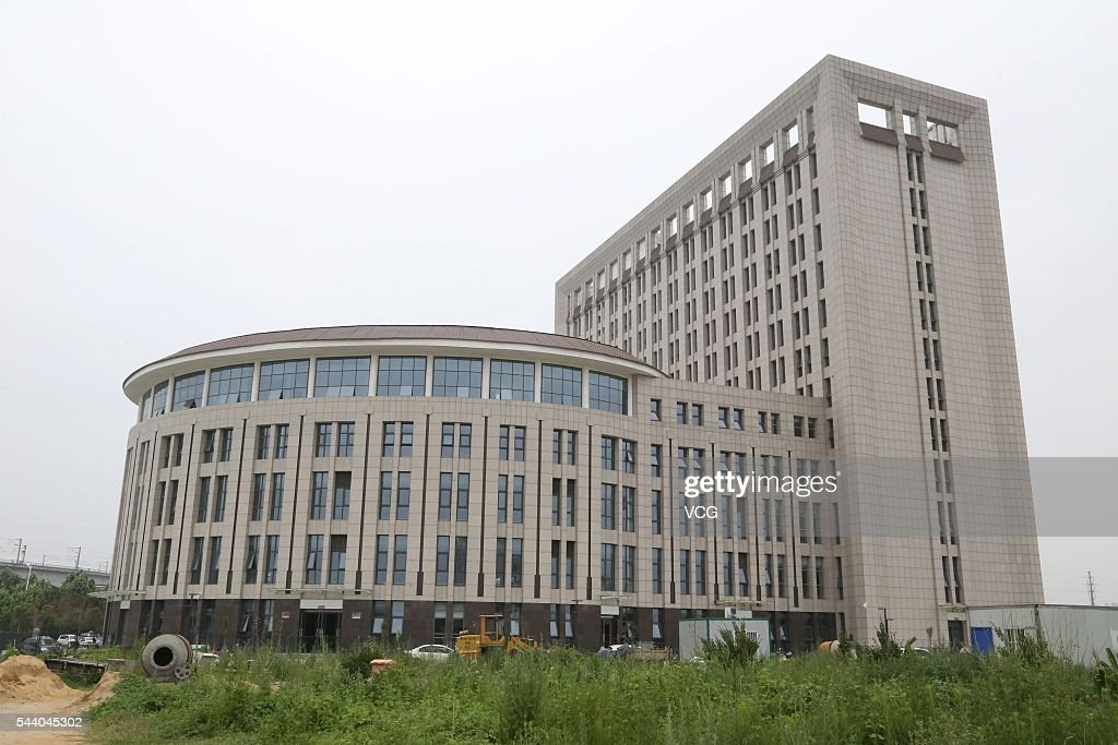 A new building that is perceived to look like a toilet stands at a college on July 1, 2016 in Zhengzhou, China. The building has not been put into operation.