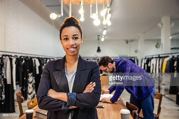 Neue Business-Mitarbeiter des Bekleidungsgeschäft